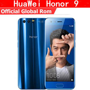 "HuaWei Android 7.0 5.15 ""FHD 1920X1080 6 GB RAM 128 GB ROM Honor 9 4G LTE Mobile"