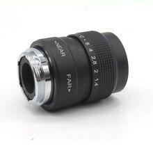 25mm f1.4 C mount CCTV camera Lens for Fujifilm X-E2 / X-E1 / X-Pro1 / X-M1 / X-A2 / X-A1 / X-T1 black free shipping