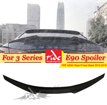 E90 Rear trunk Spoiler wing FRP Unpainted M4 Style Fits For BMW E90 3-Series 318i 320i 325i 330i 335i Tail Spoiler Wing 2005-11 цены онлайн