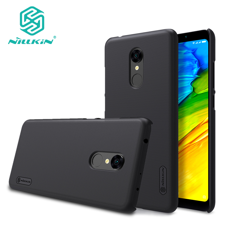 Redmi 5 case cover NILLKIN Frosted PC hard back cover with Gift Screen Protector for xiaomi redmi 5 case redmi5 phone bags 5.7''
