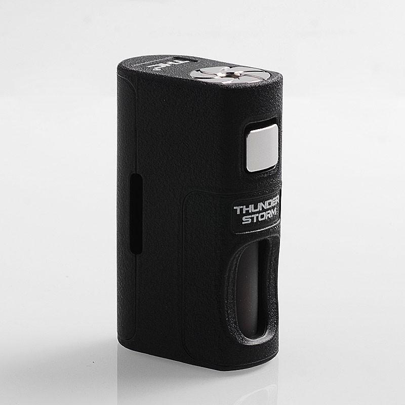 Original ThunderHead Creations THC Thunder Storm PPS BF 18650 / 20700 / 21700 Squonk Mechanical Box Mod with 8ml Bottle Vape Mod 100% original geekvape gbox mod 200w gbox squonker box mod vape fit 8ml squonk bottle support radar rda tank