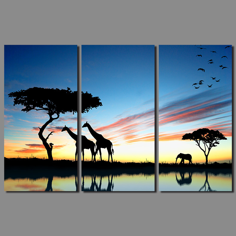 Buy gold elephant painting and get free shipping on AliExpress.com