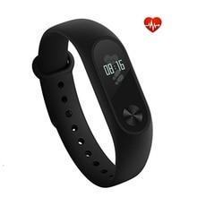 Original Xiaomi Mi Band 2 Smart Wristband Fitness Bracelet OLED Touchpad MiBand 2 Heart Rate Monitor Xiaomi mi band in Stock
