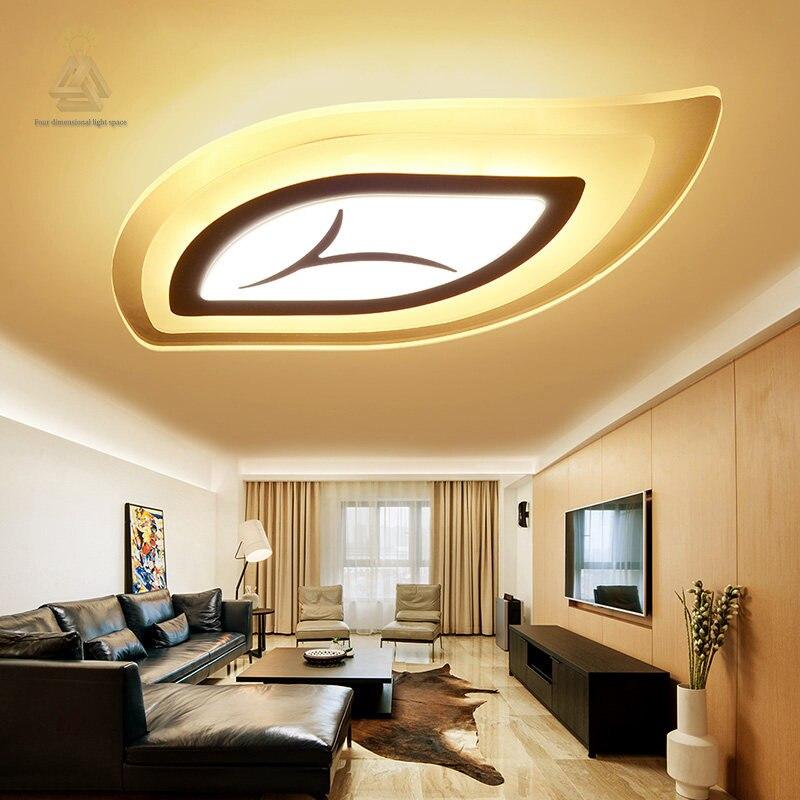 modernas lmparas de techo led para sala de estar dormitorio de la lmpara de iluminacin de