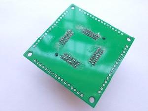 Image 4 - Free shipping TQFP64 QFP64 LQFP64 TO 64 adapter socket pitch 0.8mm for ATmega64 ATmega128 ATmega128AU  tl866cs tl866a AVR mcu