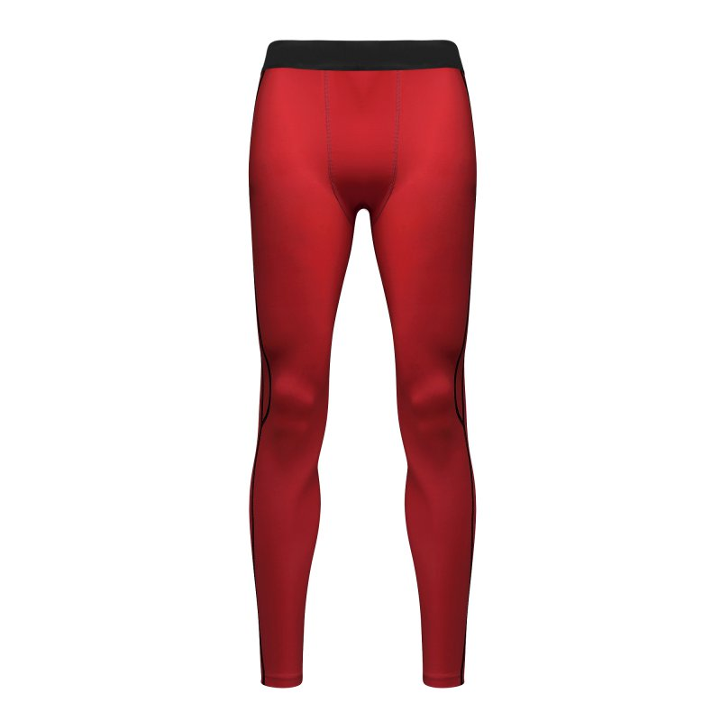 Men Athletic Compression Base Layer Pants Skinny Legging Tights Running Gym Wear Running Tights