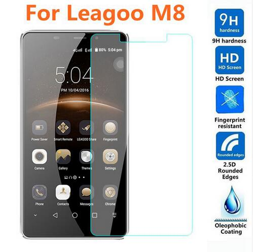 Tempered Glass For Leagoo M8 M 8 Protective Glass Guard 9H 2.5D Front Screen Protector Film Phone Case For Leagoo M8 Pro 5.7inch