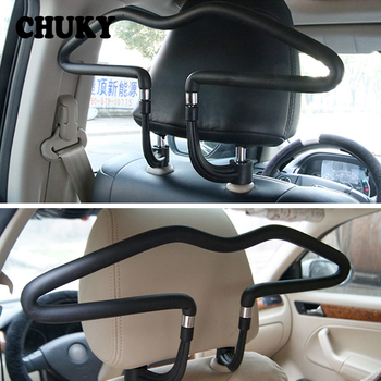 Car Back Seat Headrest Coat Clothes Soft Hanger for BMW G30 E90 E60 F30 F10 F20 X5 E53 E70 E30 E87 E92 X1 X3 X6 F15 Accessories image
