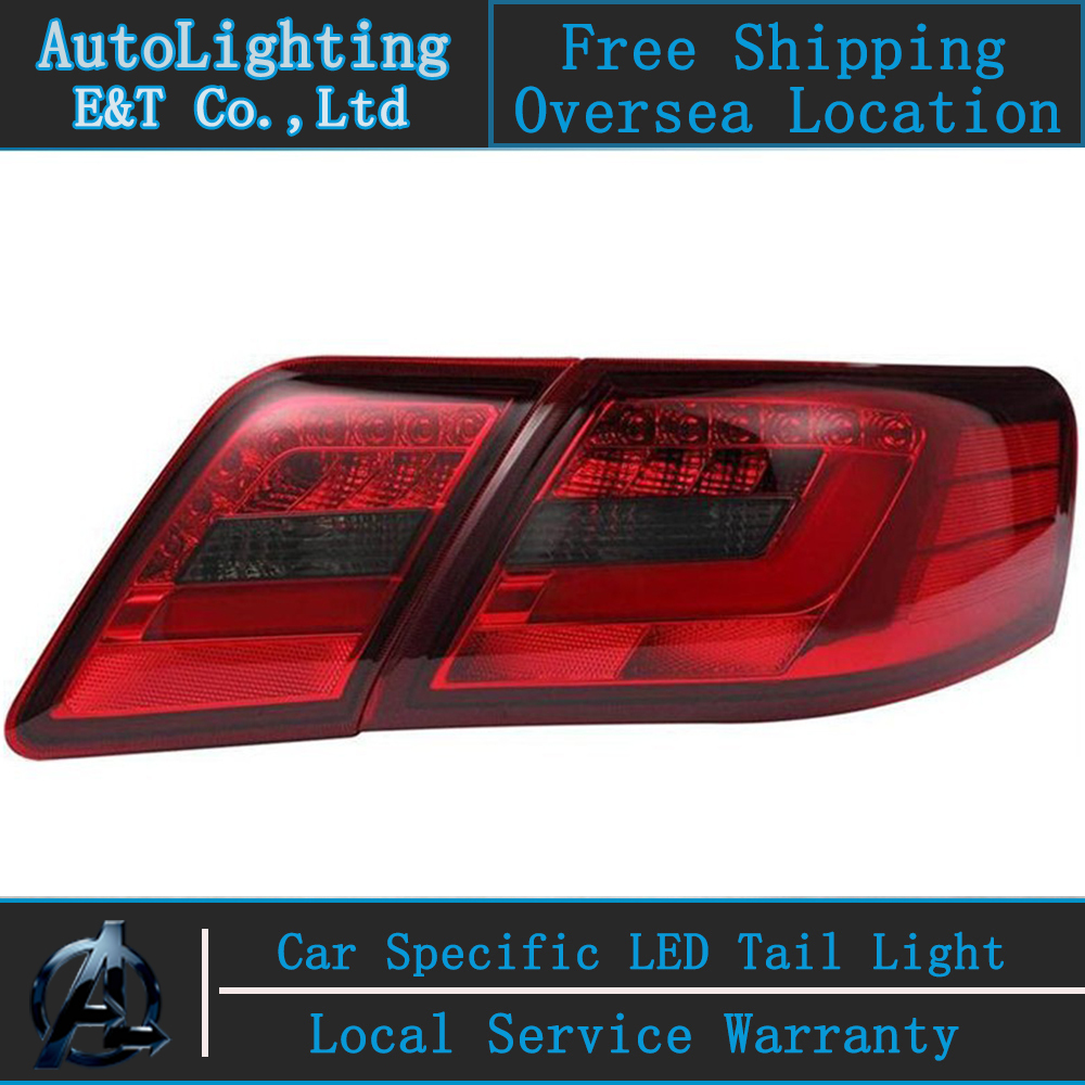 Auto Lighting Style LED Tail Lamp for Toyota Camry led tail light 2008 US version rear trunk lamp cover drl+signal+brake+reverse 2017 new hot sale inflatable water slide for children business rental and water park