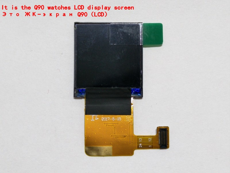 LCD display screen for Q90 G72 gps tracking watch 1.22 inch It requires professional welding for installation  LCD display screen for Q90 G72 gps tracking watch 1.22 inch It requires professional welding for installation