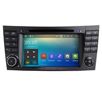 Android 7 Inch HD Car Radio Touchscreen DVD Stereo Player For 2001 2008 Mercedes Benz G