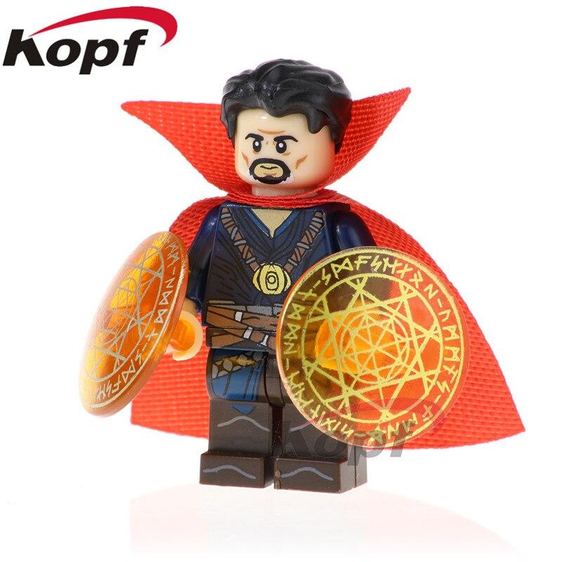 PG1570 Super Heroes Doctor Strange Pepper Potts War Machine Thor Building Blocks Bricks Action Figures For Children Gift Toys