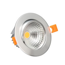 Newest High quality Dimmable led lamp downlight COB 10W 15W 25W dimming LED Spot light ceiling free shipping