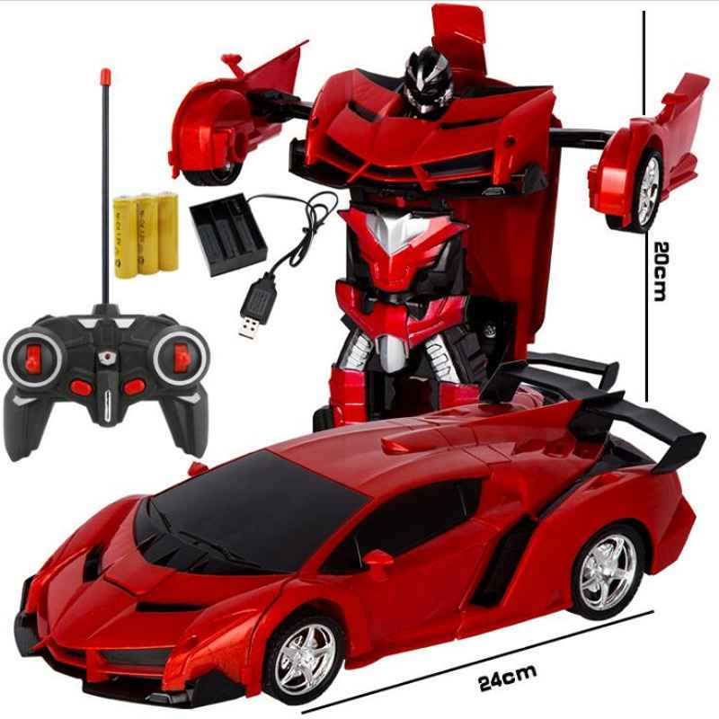 New RC Car Sports Car Models Transformation Robots Remote Control Deformation Car RC Robots Kids Toys Gifts Baby Toy FiguresNew RC Car Sports Car Models Transformation Robots Remote Control Deformation Car RC Robots Kids Toys Gifts Baby Toy Figures
