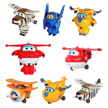 Best Sale Super Wings Super Wings Mini Planes Deformation Airplane Robots Action Figures Transformation Super flash cartoon toys