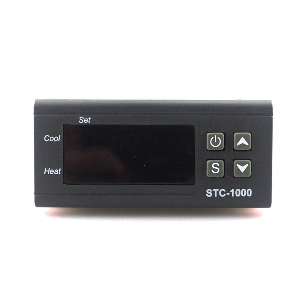 STC-1000 Digital Thermostat Incubator <font><b>Temperature</b></font> <font><b>Controller</b></font> Two Relay Output LED 110V <font><b>220V</b></font> 12V 24V <font><b>10A</b></font> Heat Cool image