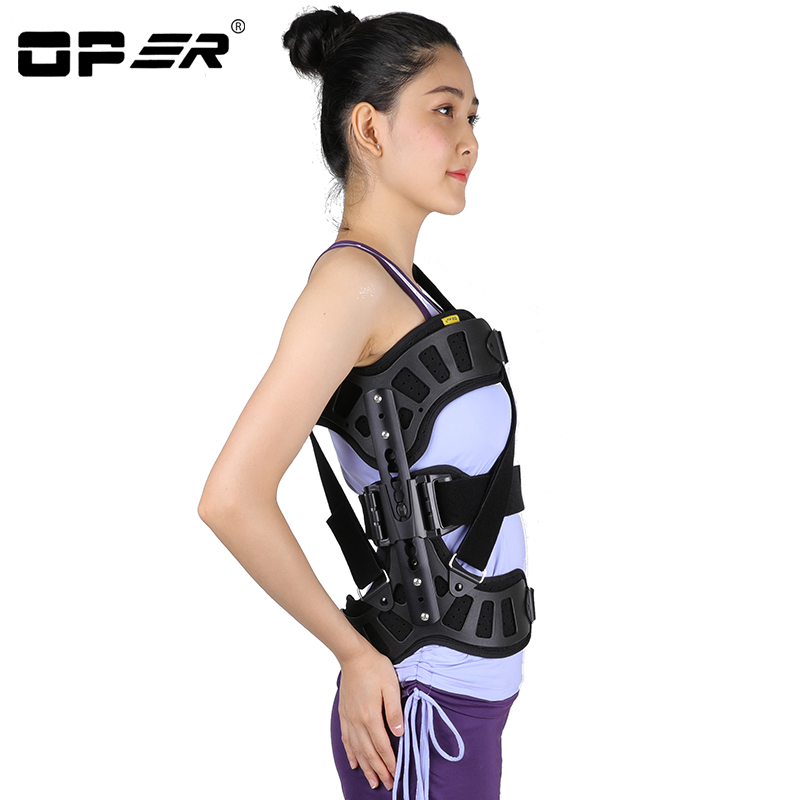 OPER Scoliosis Posture Corrector Adjustable Auxiliary Spine Corrector for Back Postoperative Recovery Men and Women Adults