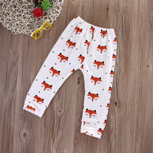 Fashion Baby Boys Girls Foxes Trousers Animal Harem Long Pants Leggings Bottoms ELSA FAST SHIPPING