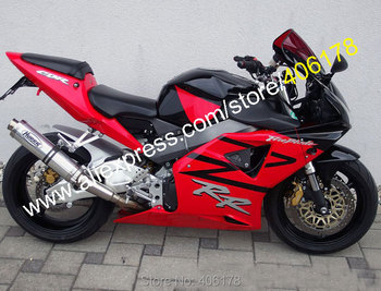 For Honda CBR 900 RR 2002 2003 CBR900RR 954 02 03 954RR  CBR954 RR Red Black Motorcycle Fairings (Injection molding)
