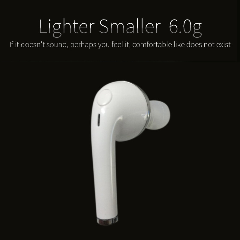 Mambaman V1 Bluetooth Earphones Mini Sports Headset with Mic Portable Wireless Stealth Handsfree Earpieces for iPhone 7 Xiaomi