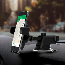 Newest Universal Car Phone Holder Suction Windshield Mount Stand 360 Adjustable Phone Holder For iPhone Samsung GPS Suporte
