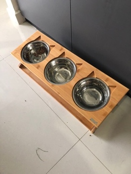 Solid Wood Anti-slip Bowls  5