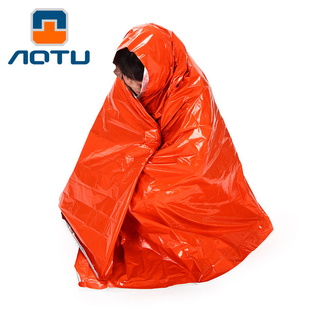 New Arrival Emergency rescue blanket 210*130CM outdoor emergency blanket thickened sunscreen Shelter