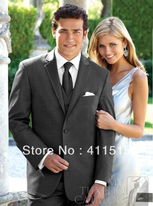 Free Shipping Bespoke Cheap Suits Black Color!custom Made Groom Wear Dress Wedding For Men Wear Tuxedos