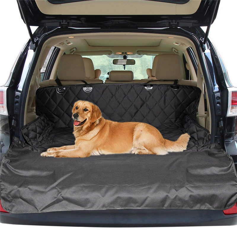 Dual-use Dog Seat Cover For Car Soft SUV Dog Car Trunk Mat Pet Barrier Protect Car Floor From Spills And Pet Nail Scratches