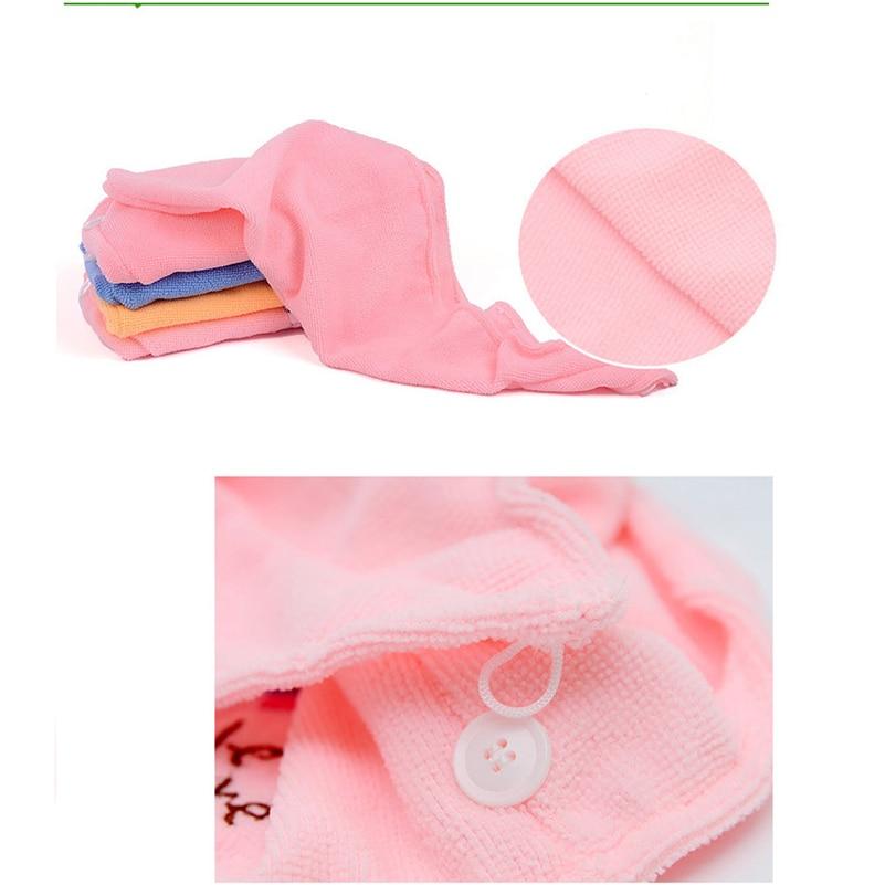 Lovely Hair Towel Turban 3