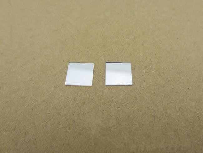 Derh 10 высокое качество лазерной линзы, свет высокой прозрачный фильтр объектив, Размеры: 10x10x0.55 мм, Стекло материалы, чистую поверхность