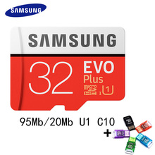 SAMSUNG Micro SD Card 64GB 100Mb/s 16GB 32GB 128GB 256GB Class10 U3 Microsd Memory Card Flash TF Card for Phone SDHC SDXC