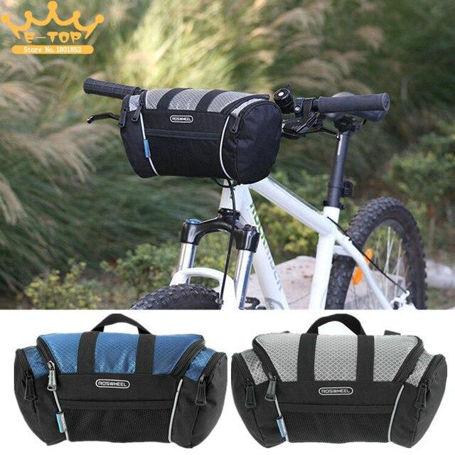 9052bb888b525 5L rower torba na kierownicę rower rura przednia kieszeń na ramię pakiet  jazda na rowerze odkryty