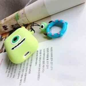 Image 5 - Cute Cartoon Cassa Molle Del Silicone Per Apple Airpods Antiurto Copertura Per AirPods Auricolare Custodie Aria Baccelli di Caso di Accessori Per Auricolari