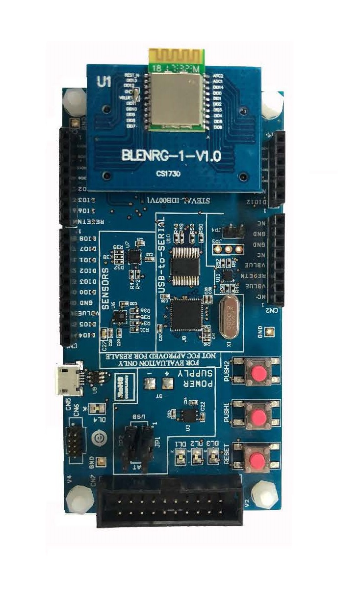 STBlueNRG Development Board BLE132/BLE232 Special Development BoardSTBlueNRG Development Board BLE132/BLE232 Special Development Board