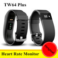 Original TW64 Plus Heart Rate Monitor Smart Band Pulse Smartband Sport Wristband OLED Smart Bracelet Fitness PK xiaomi mi band 2