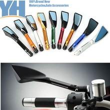 Gt moto de aluminio cnc de la motocicleta tomok lateral retrovisor espejo accesorios se ajusta para kawasaki honda suzuki yamaha