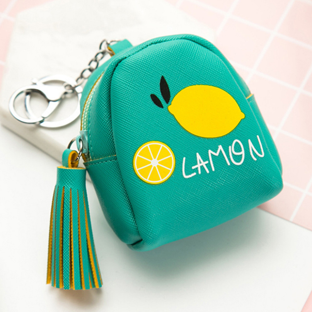 Fashion Hot Women Girl Cute Snacks Coin Printing Retro Bunch pocket Small Key Holder Change Purse Money Bag A#