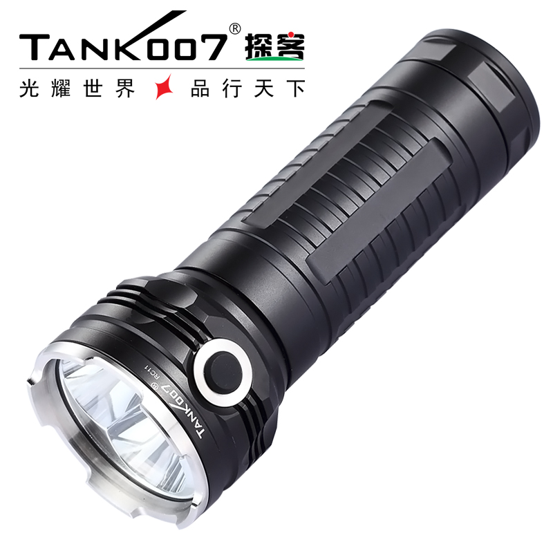 Tank007 RC11 Cree XM-L-U2 2000 lumen 5 Modes High Power Rechargeable LED Flashlight for Outdoor Searching by 3*18650 Battery цена 2017