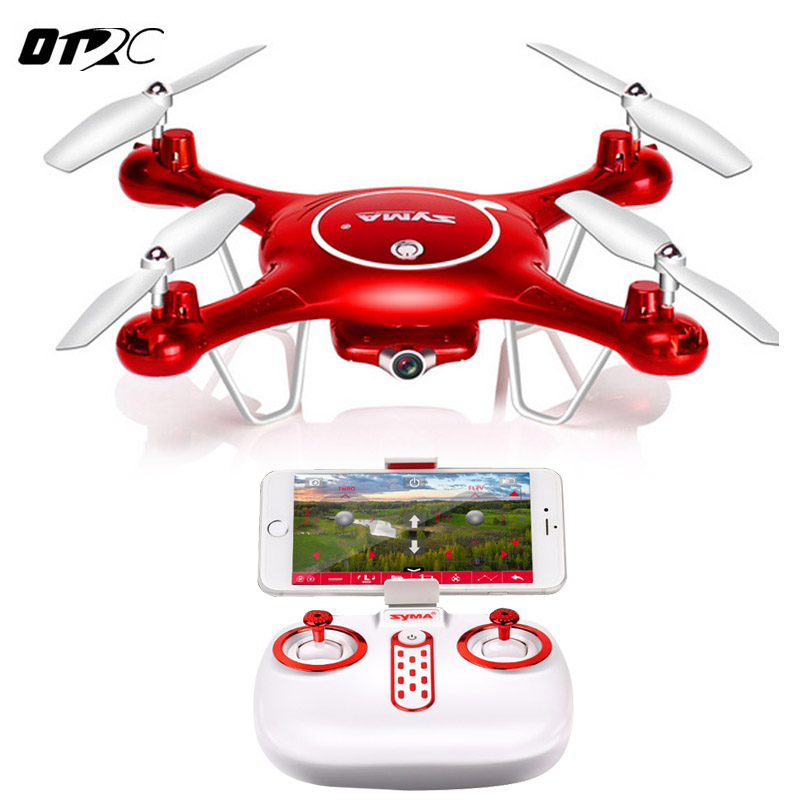 Syma X5UW RC Drone Quadrocopter With HD Camera Wifi FPV Real-time Drones SmartPhone Control Helicopter Dron With 4G Memory Card wifi drones with camera jjrc h12w quadcopters rc dron wifi flying camera helicopter remote control hexacopter toys copters