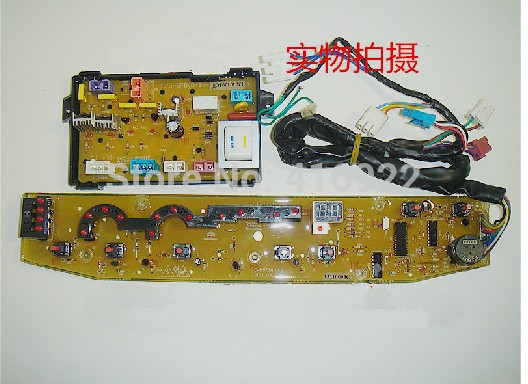 Free shipping 100% tested for Midea for rongshida washing machine circuit board xqb70-973 xqb70-9909g motherboard set on sale free shipping 100%tested for rongshida washing machine computer board motherboard xqb4228g control board fully automatic on sale