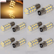 Boxing Day 2017   Cheap 10-Pack Warm White 1157 BAY15D 5050 27SMD LED Replacement Bulb Cornering Lamp Brake Light DC 12V
