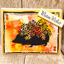 Flower Silhouette Hedgehog Metal Cutting Dies for DIY Scrapbooking Decorative Crafts Embossing Paper Cards Making New 2019