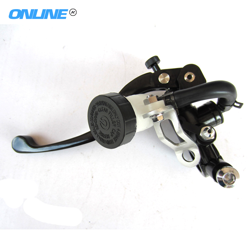 Left FREE Shipping High quality Brand new modified refit brake pump master cylinder 19mm piston pin pressure