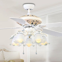 Eusolis Europese Retro Ceiling Fans With Lights Ventiladores De Techo Con Luz Y Mando Remoto Tavan Pervanesi Lamp Fan