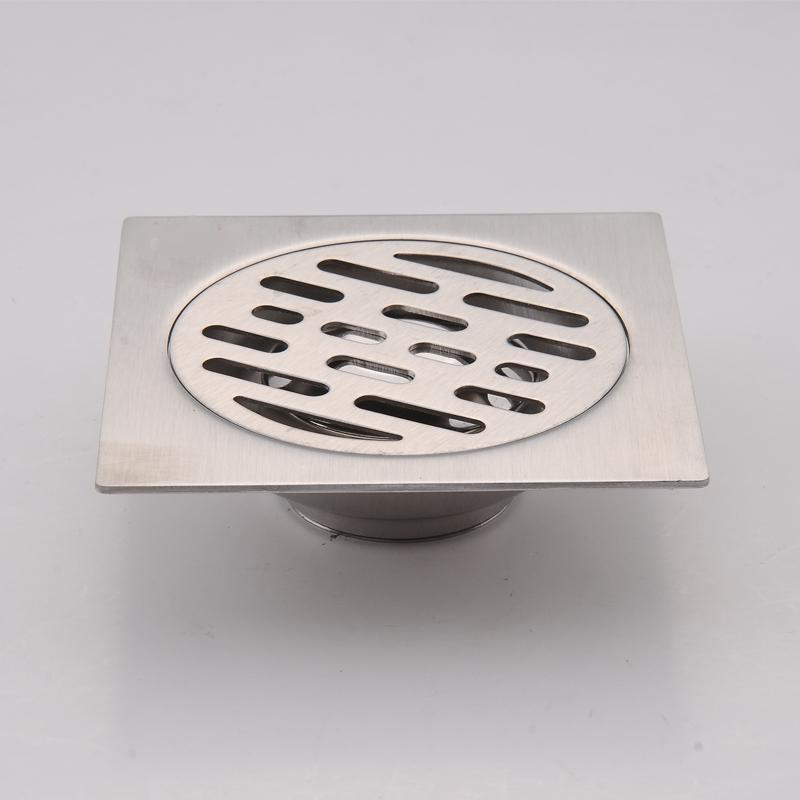Stainless Steel Square Waste Floor Drain Cover Kitchen