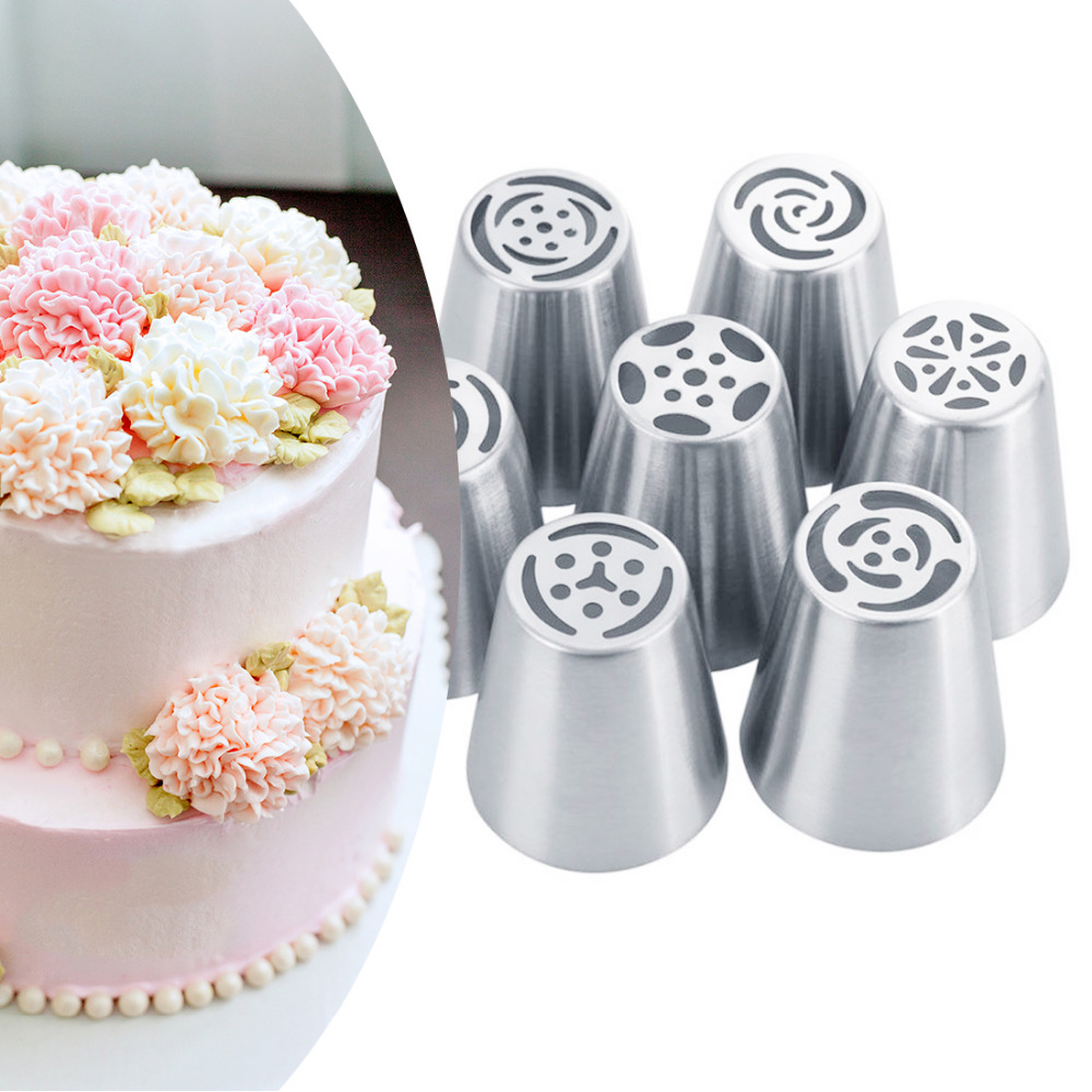 Inspiring Cake Decoration Stainless Steel Russian Tulip Icing Piping Nozzlespastry Decoration Tips Rose Kitchen Cake Ms From Home Cake Decoration Stainless Steel Russian Tulip Icing Piping