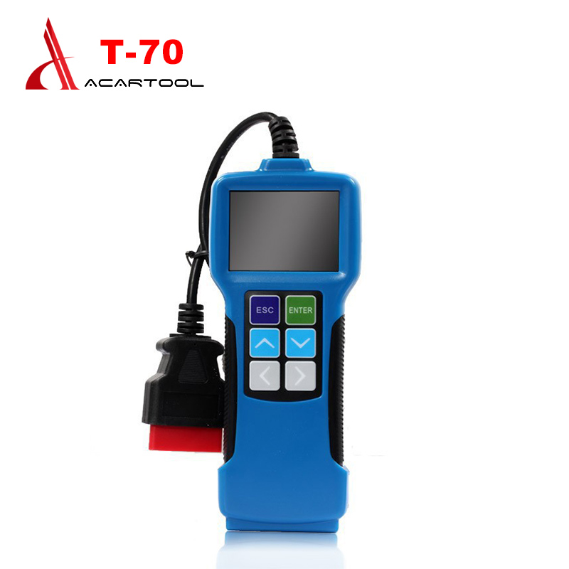 Vehicle Code Reader >> Us 70 0 T70 Universal Fault Code Scanner Obdii Eobd Jobd Software Upgradeable Vehicle Code Reader Auto Scan Tool T70 Free Shipping On Aliexpress Com