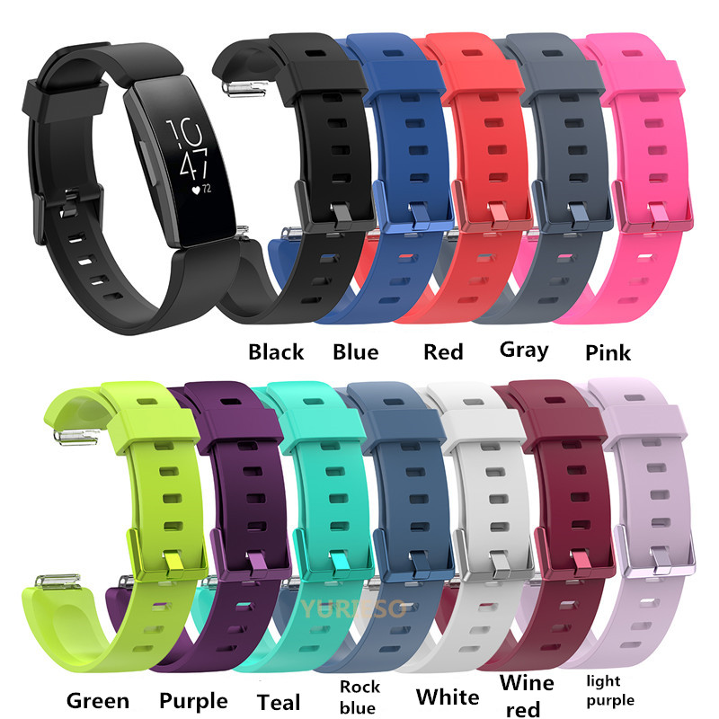 100pcs For Fitbit Inspire Bands Silicone Sports Replacement Wristband Bracelet Strap for Fitbit Inspire HR Fitness