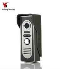 Wholesale prices YobangSecurity Metal Case Waterproof IR Night Vision Doorbell Camera For Video DoorPhone Video Intercom Home Doorbell System